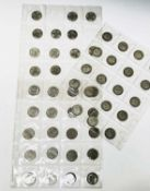 Great Britain 2 Shilling coinage. Comprising 31 pre 1947 silver coins (face £2.10) and 20 cupro-