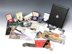 GB and other Modern Coinage Including 2008 UK Royal Shield of Arms Proof Collection, 2007 Diamond
