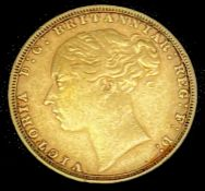 Great Britain Gold Sovereign 1880 George & Dragon Condition: please request a condition report if