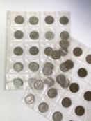 Great Britain Halfcrown coinage. Comprising 28 pre 1947 silver coins (face £3.50) and 20 cupro-