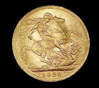 Great Britain Gold Sovereign 1920 George V. Perth Mint mark Condition: please request a condition