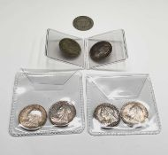 Great Britain Silver 6d Queen Victoria - Select examples 1893 - 1901 (x7). 1893, 1896, 1897, 1899,