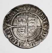 Elizabeth I, Sixpence 1567 F. Condition: please request a condition report if you require additional