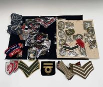 Military Cloth Badges - approximately 50+. A selection of mainly British Cloth Badges, including