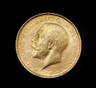 Great Britain Gold Sovereign 1918 George V. Perth Mint mark. Condition: please request a condition