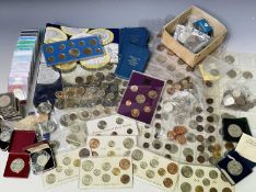 Modern UK Coinage. Box containing a quantity of modern crowns from 1951, various year sets including