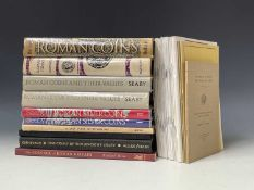 Coin Reference Books and Catalogues - Roman, Celtic, Greek and Ancient Coins. A box containing 14