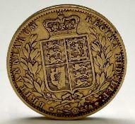 Great Britain Gold Sovereign 1853 Queen Victoria Shield Back Condition: please request a condition