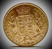 Great Britain Gold Sovereign 1846 Queen Victoria Shield Back Condition: please request a condition