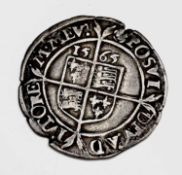 Elizabeth I, Sixpence 1565. F+, a few edge nibbles but very good detail. Condition: please request a