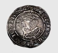 Henry VIII 1526-44 Second Coinage Groat, mm lis, Good grade. Condition: please request a condition