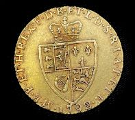 Great Britain Gold Guinea 1792 Condition: please request a condition report if you require