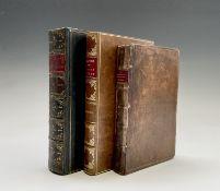 HORTICULTURE. 'The Gardeners Kalendar....' by Phillip Miller, full calf leather, engraved