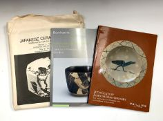 JAPANESE CERAMICS TODAY. 'Masterworks from the Kikuchi Collection.' Original cloth, glassine dj,