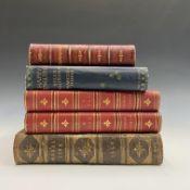 HELEN ALLINGHAM. 'Happy England'. Col plates, original cloth, 1904; Plus four other books.