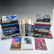 BOB DYLAN INTEREST, various titles and dates, biographies, illustrated histories, in a box.