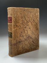 DICCIONARIO DE LA LENGUA CASTELLANA. 'por la Real Academia Espanola.' Orig marbled leather,