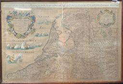 ALEXIS HUBERT JAILLOT & GUILLUAME SANSON . Provinces-Unies Des Pays-Bas (Netherlands), Amsterdam