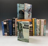 ALISTAIR MACLEAN. 'Bear Island.' Original cloth, unclipped dj, The Book Club Associates, 1971; '