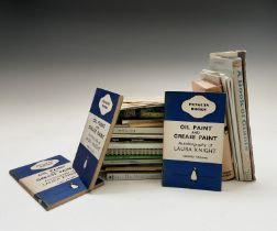 LAURA KNIGHT. 'Oil Paint and Grease Paint.' 3 vols., first Penguin edition, 1941, vg; Plus other
