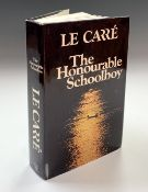 JOHN LE CARRE. 'The Honourable Schoolboy.' First edition, unclipped dj, Book Club Associates,
