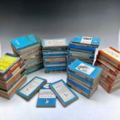 PENGUIN BOOKS, PELICAN BOOKS, SIGNET CLASSICS, paperbacks various titles, two boxes. Condition: