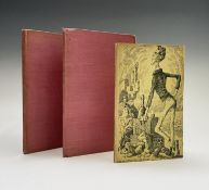 MERVYN PEAKE ILLUSTRATIONS. 'The Hunting of the Snark.' Two copies in fair/good condition. Lacking