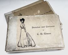 C. D. GIBSON. 'The Education of Mr Pipp,' riginal cloth, binding loose, b+w illustrations