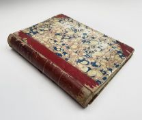 VANITY FAIR. 1877-1878. 73 illustrations with accompanying text, bound in half red leather, hinges