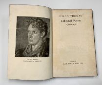 DYLAN THOMAS. 'Under Milk Wood.' First edition, vg condition with slightly worn dj, 1954; 'Collected