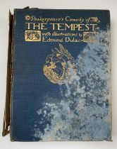 EDMUND DULAC ILLUSTRATIONS. 'The Tempest.' By William Shakespeare, 40 tipped in coloured plates with