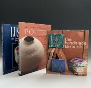 LIZA GARDNER. 'The Handmade Tile Book.' First edition, orig boards, dj, 1999, vg; Plus two others on
