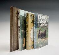 DEREK TANGYE. 'A Quiet Year.' Signed, first edition, original cloth, unclipped dj, Michael Jospeh,