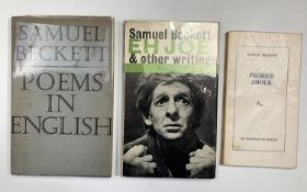 SAMUEL BECKETT. 'Poems in English.' First edition, original cloth, unclipped dj, John Calder, ondon,