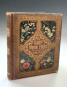 BIRKET FOSTER ILLUSTRATIONS. Common Wayside Flowers by Thomas Miller. First Edition, colour