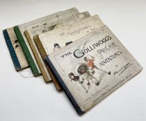 FLORENCE K. UPTON. 'The Adventures of Two Dutch Dolls,' First edition, original pictorial boards,