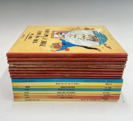 (GEORGE REMI) HERGE. 'The Adventures of Tintin.' Seven first British Methuen editions: 'King