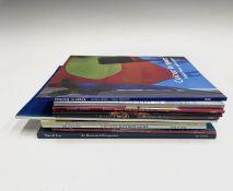 ART INTEREST. 'John Hoyland: The Trajectory of a Fallen Angle.' Signed postcard, colour illustration