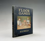 H. G. WELLS. 'Floor Games.' Photographic plates complete plus drawings by J R Sinclair, orig