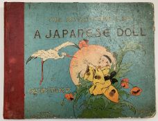 HENRY MAYER. 'The Adventures of a Japanese Doll.' Original pictorial boards, rebound with new