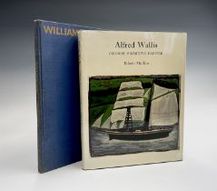 EDWIN MULLINS. 'Alfred Wallis: Cornish Primitive Painter.' Orig cloth, dj in which tears have been
