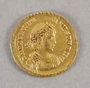 Antike römische Goldmünze (Solidus), Valentinianus II.