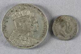 2 Münzen Preußen