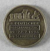 8. Deutscher Bergmannstag 1996 in Schneeberg