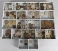 Sammlung Münzgeld europ. Länder, ca. 250 Stück