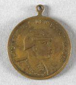 Tragbare Medaille Wilhelm II. Deutscher Kaiser 'Zur Erinnerung an die Kaiserparade in Metz den 23. A
