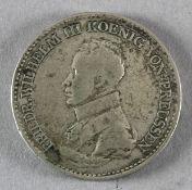 1 Taler, Preußen, 1817 A