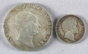 2 Münzen Bayern