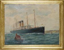 Schiffsporträt: Die SS Cedric, 1903