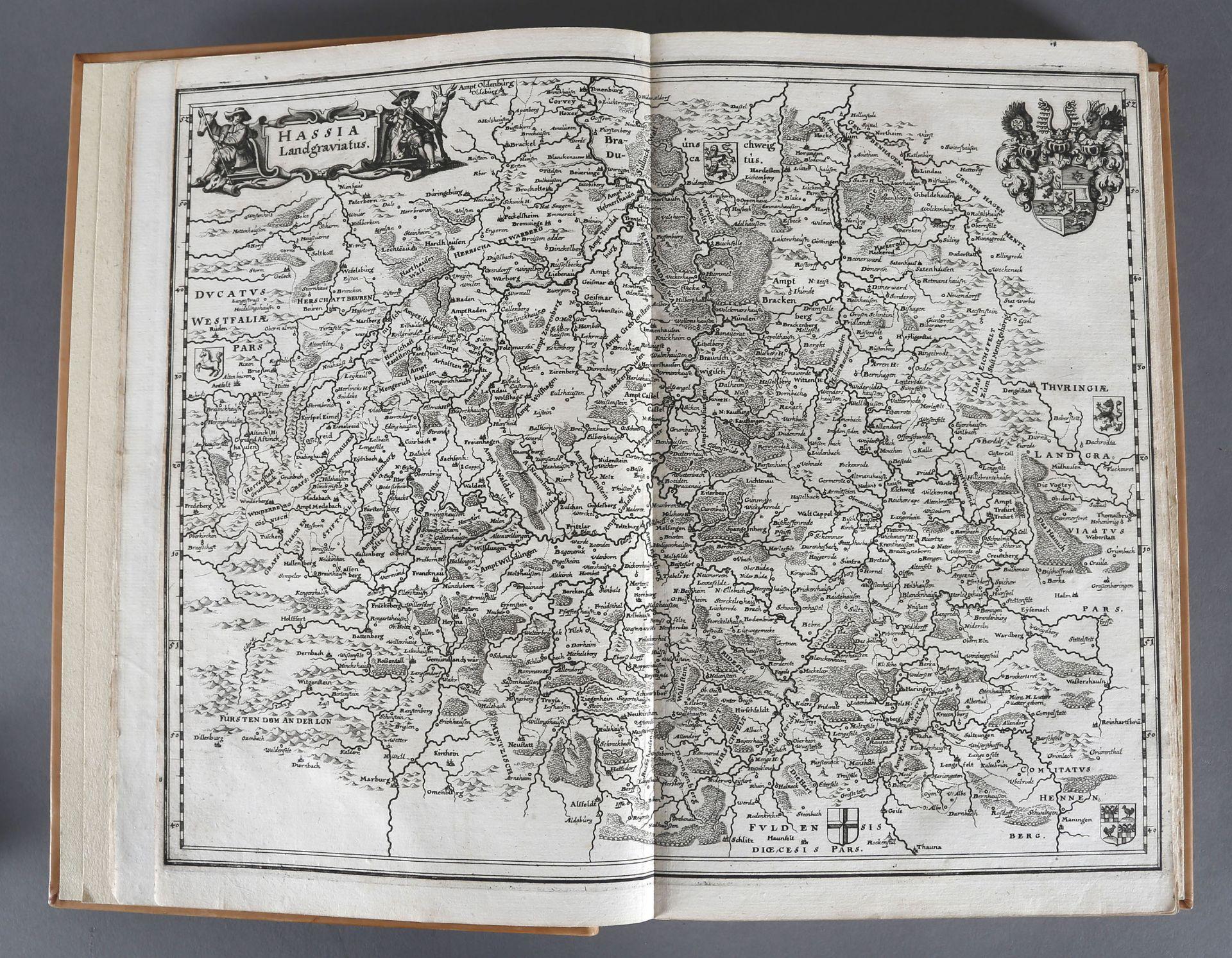 Matthäus Merian (Stiche) und Martin Zeiller (Text), Topographia Hassiae et Regionum Vicinarum - Image 3 of 3